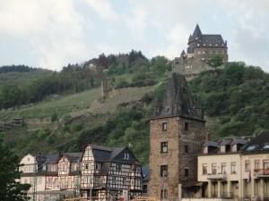 対岸のお城