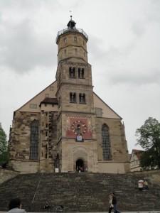 シュヴェービッシュ・ハルの聖ミヒャエル教会