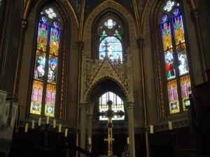 お城の中の教会