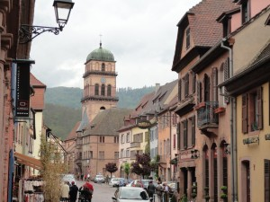 ワイン街道の街