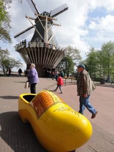 木靴と風車