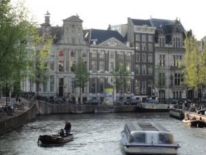 アムステルダムの風景