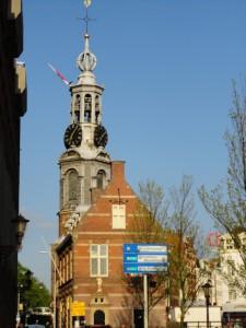 アムステルダムの時計台