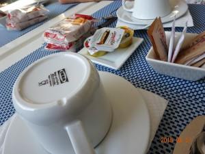 朝食 カプチーノ