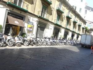 路駐のバイク